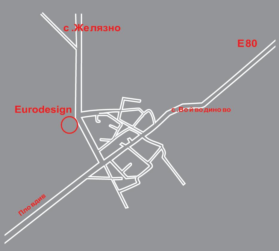 Офис с.Войводиново Карта